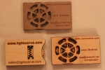 3D Business Cards withGears